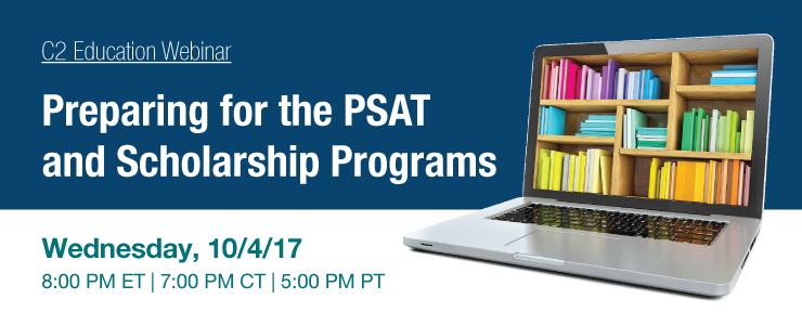 Preparing for the PSAT and Scholarship Programs