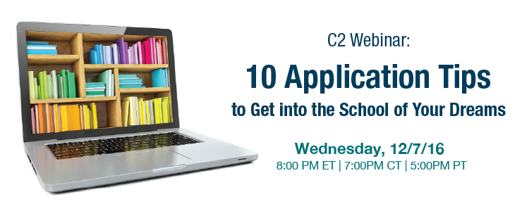 10 Application Tips to Get You into the School of Your Dreams